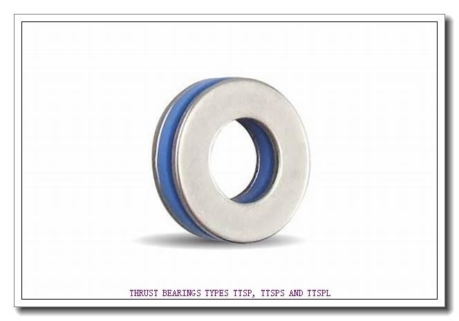 T581 THRUST BEARINGS TYPES TTSP, TTSPS AND TTSPL