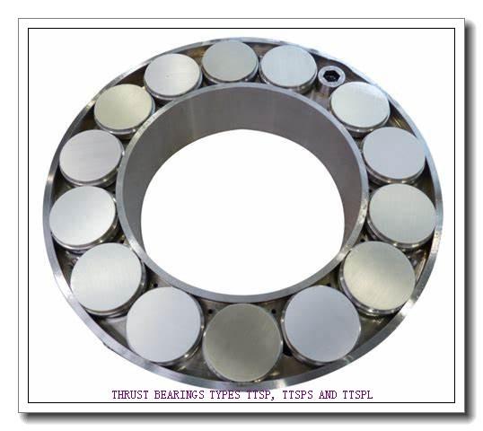 T114X THRUST BEARINGS TYPES TTSP, TTSPS AND TTSPL