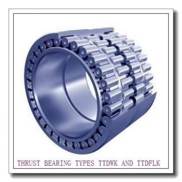 13200Fe THRUST BEARING TYPES TTDWK AND TTDFLK