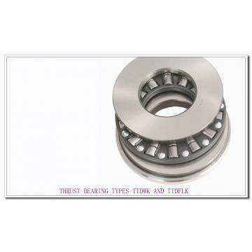 T9130FW THRUST BEARING TYPES TTDWK AND TTDFLK