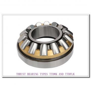 T8011Fe THRUST BEARING TYPES TTDWK AND TTDFLK