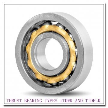 T12100e THRUST BEARING TYPES TTDWK AND TTDFLK