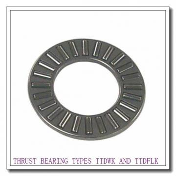 T12100F THRUST BEARING TYPES TTDWK AND TTDFLK