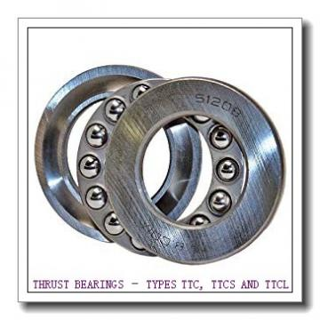 T402 THRUST BEARINGS – TYPES TTC, TTCS AND TTCL
