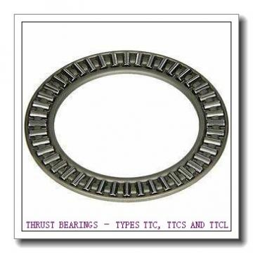 T251 THRUST BEARINGS – TYPES TTC, TTCS AND TTCL
