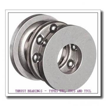 T195 THRUST BEARINGS – TYPES TTC, TTCS AND TTCL