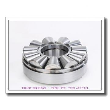 T163X THRUST BEARINGS – TYPES TTC, TTCS AND TTCL