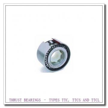 T208 THRUST BEARINGS – TYPES TTC, TTCS AND TTCL