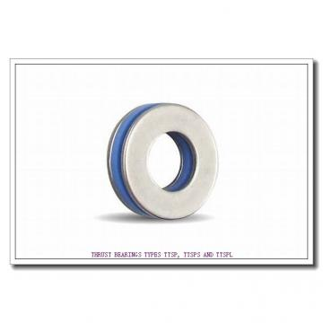 T120 THRUST BEARINGS TYPES TTSP, TTSPS AND TTSPL