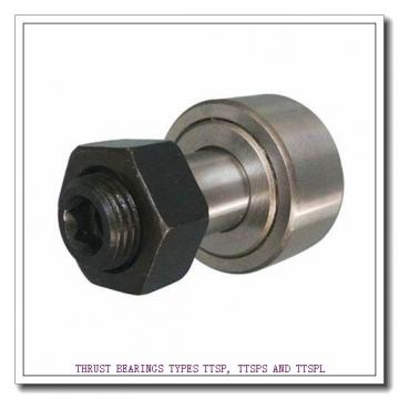 T93 THRUST BEARINGS TYPES TTSP, TTSPS AND TTSPL