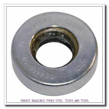 T309 THRUST BEARINGS TYPES TTSP, TTSPS AND TTSPL