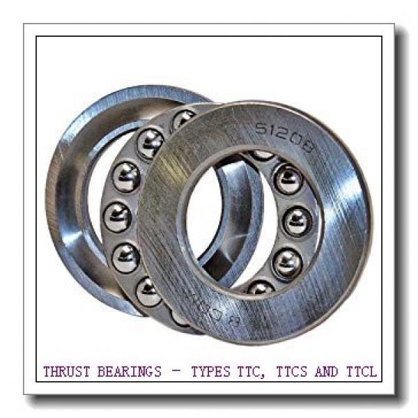 T251 THRUST BEARINGS – TYPES TTC, TTCS AND TTCL #2 image