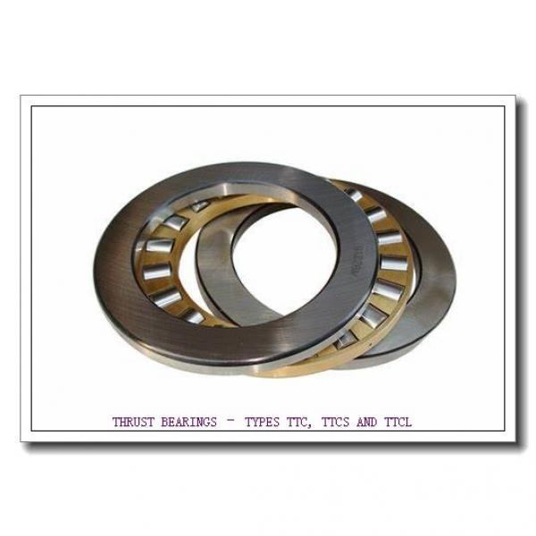 T163X THRUST BEARINGS – TYPES TTC, TTCS AND TTCL #4 image