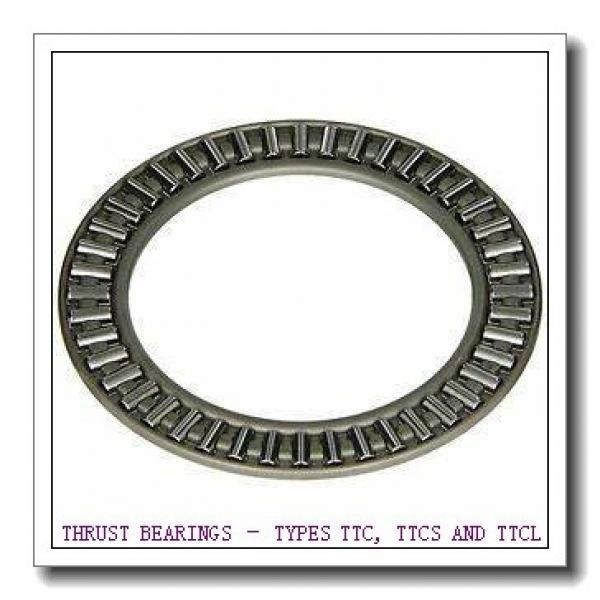 T163X THRUST BEARINGS – TYPES TTC, TTCS AND TTCL #3 image