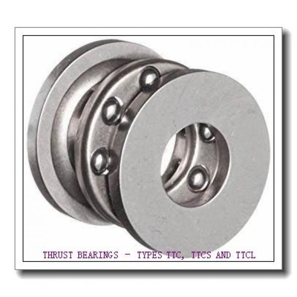 T177A THRUST BEARINGS – TYPES TTC, TTCS AND TTCL #5 image