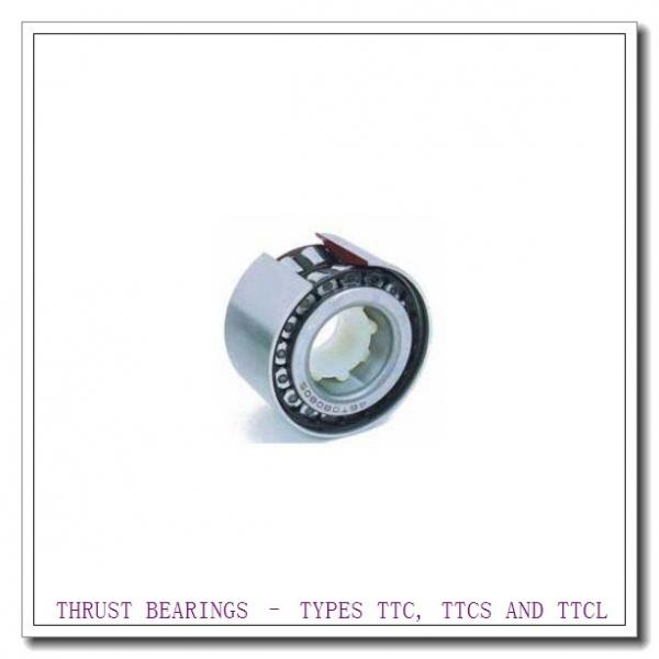 T251 THRUST BEARINGS – TYPES TTC, TTCS AND TTCL #3 image