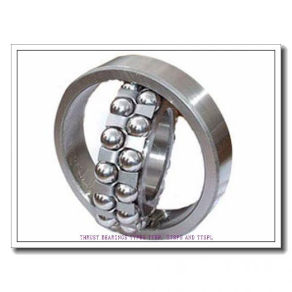 T76 THRUST BEARINGS TYPES TTSP, TTSPS AND TTSPL #3 image